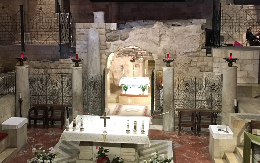 Homily from Mar. 25, 2020 (Solemnity of the Annunciation): HERE