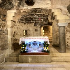Homily from Pilgrimage to Israel (Mar. 22, 2018): Nazareth – Church of the Annunciation