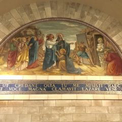 Homily from Pilgrimage to Jordan & Israel (May 8, 2018): HOME OF LAZARUS