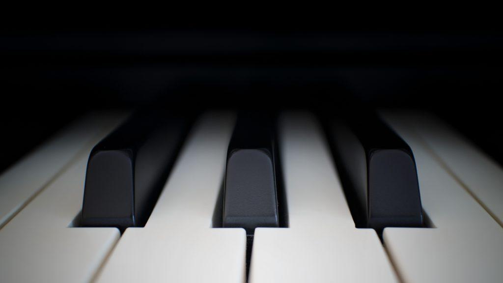 Photo of piano keys by Johannes Plenio on Unsplash.com.