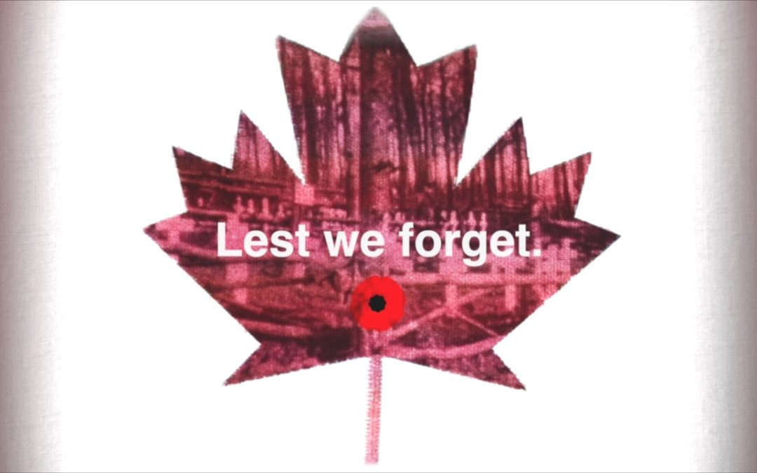 VIDEO: Lest We Forget (Remembrance Day Tribute)